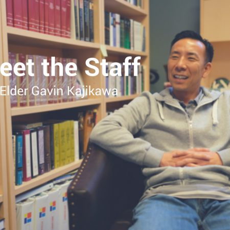 Meet the Staff: Elder Gavin Kajikawa