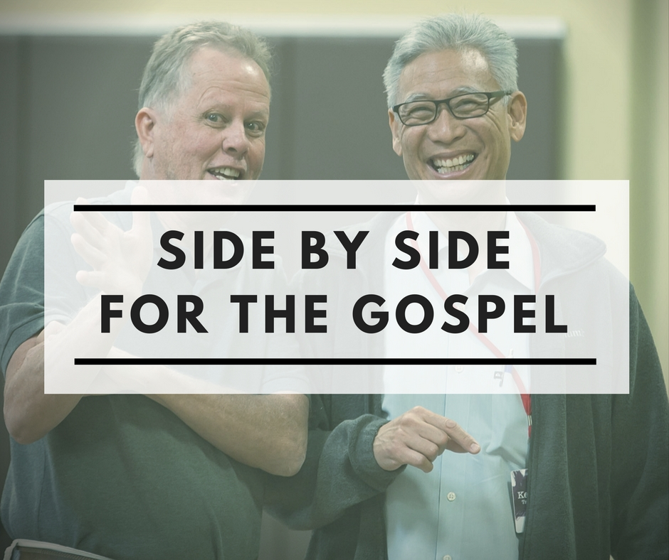 Side by Side for the Gospel (Philippians 1:27)