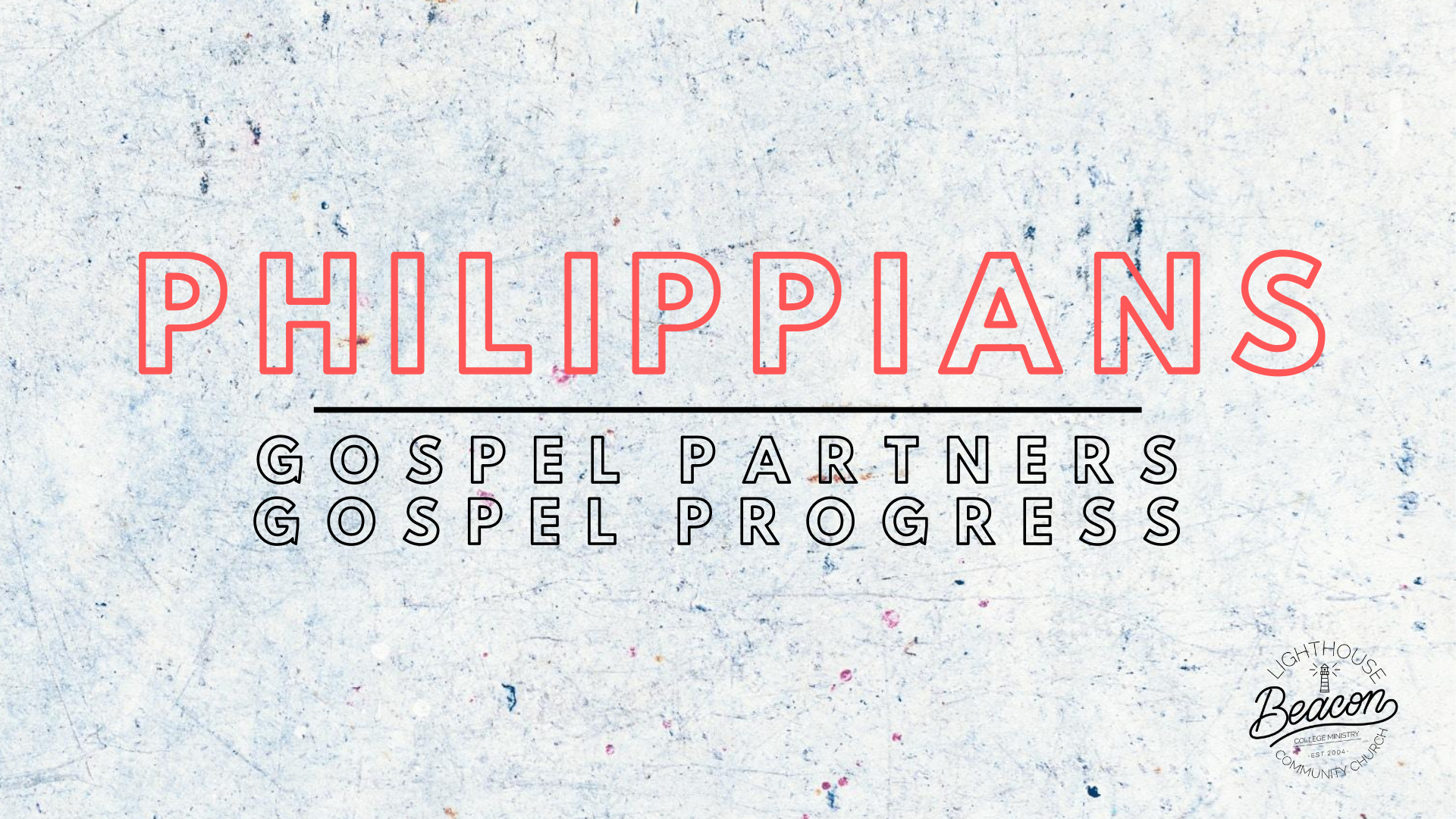 Partners in Joy (Philippians 1:1-11)