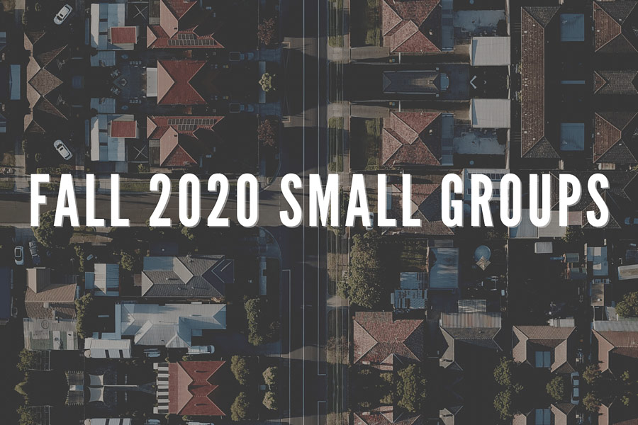 Fall 2020 Small Groups