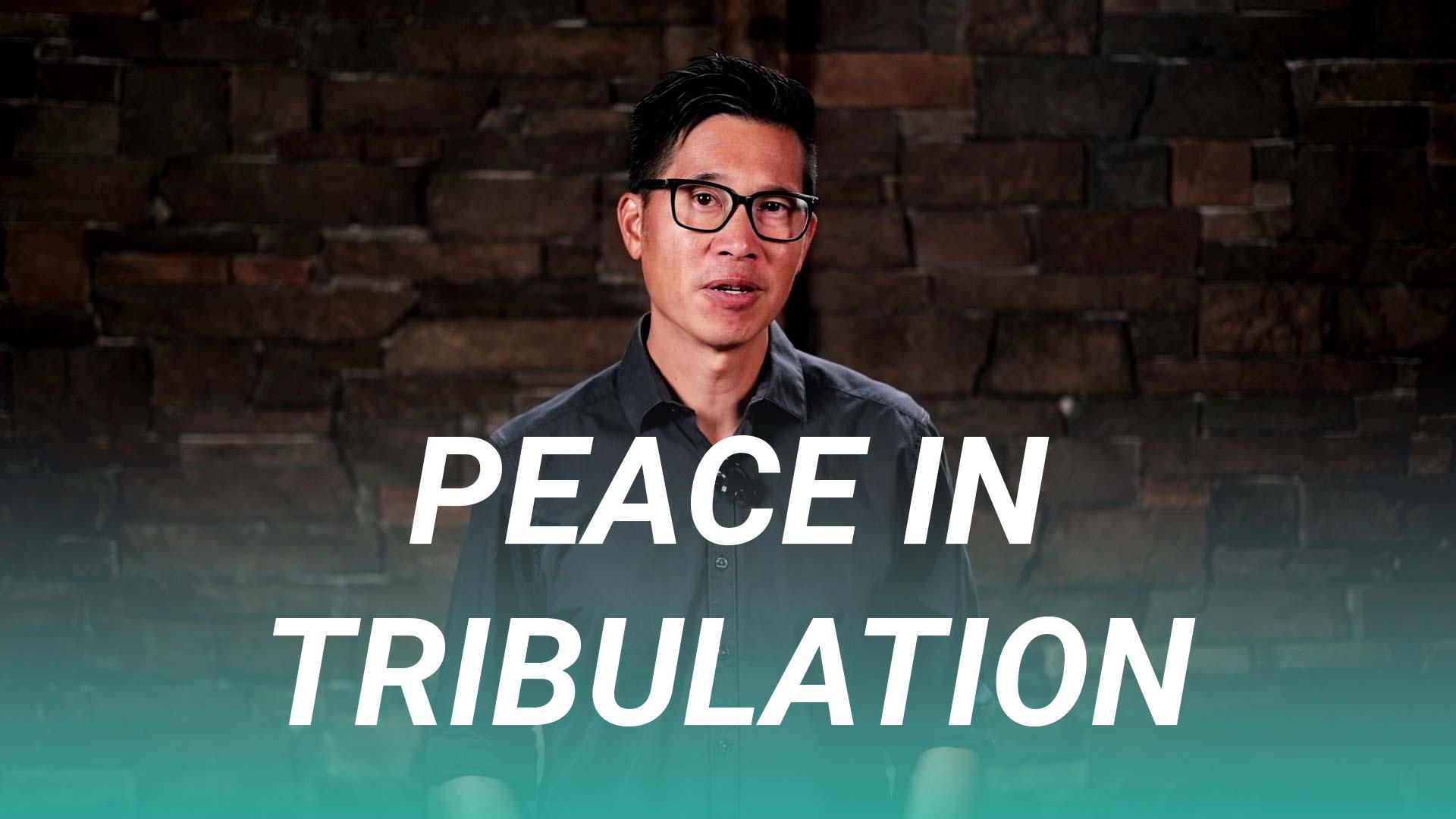 Peace in Tribulation (John 16:25-33)